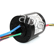Through bore current collector slip ring for machinery equipmentSRH30989-3P6S1E