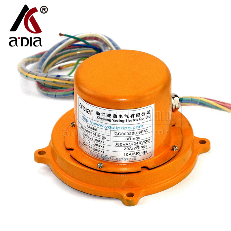 Slip ring on Construction Machinery  GC00200-8P-A(8rings)